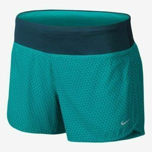 Nike Rival Running Short S Dri Fit Green Athletic